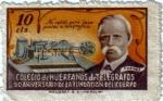 Stamps Spain -  Colegio de huérfanos de telégrafos.90 aniversario de la fundación del cuerpo