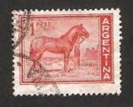 Stamps : America : Argentina :  caballo criollo