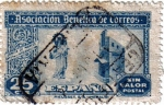 Stamps Spain -  Asociación benéfica de correos