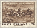 Stamps Italy -  150 aniversario Dell'Arma dei Carabinieri