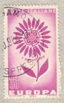 Stamps Italy -  Europa V anniversario