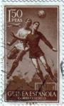Sellos de Africa - Guinea -  Seria básica Futbol 1955 Guinea Española