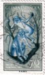 Stamps Guinea -  Día del sello 1955 Guinea Española