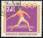 Stamps Mongolia -  Deportes