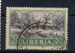 Sellos del Mundo : Africa : Liberia : aldea