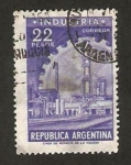 Stamps : America : Argentina :  Fábrica Industrial