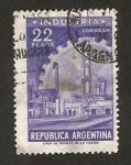 Stamps : America : Argentina :  Fábrica Industrial