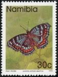 Sellos del Mundo : Africa : Namibia : Mariposas