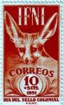 Sellos de Europa - España -  IFNI. Día del sello 1951
