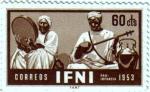 Sellos de Europa - Espa�a -  IFNI. Pro infancia 1953