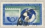 Stamps Italy -  Paris-primera conferencia postal internacional