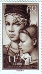 Stamps Spain -  IFNI. Pro infancia 1954