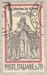 Stamps Italy -  Santa Caterina de Siena
