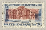 Stamps Italy -  Centenario de la unidad de Italia