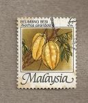 Stamps Asia - Malaysia -  Averrhoa carambola