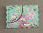 Stamps Malaysia -  lagerstoemia speciosa