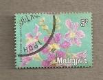 Stamps Asia - Malaysia -  lagerstoemia speciosa