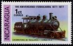 Sellos de America - Nicaragua -  Trenes