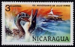 Stamps Nicaragua -  Julio Verne