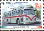 Stamps Uruguay -  VEHICULOS ANTIGUOS