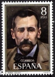 Stamps Europe - Spain -  Centenario de celebridades. Benito Pérez Galdós