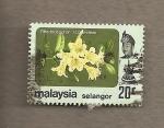 Stamps Asia - Malaysia -  Rhododendron scortechinii