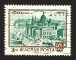 Stamps : Europe : Hungary :  ciudad de budapest
