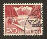 Stamps : Europe : Switzerland :  485 - técnicas y paisajes