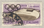 Stamps of the world : Italy :  Giochi della XVII Olimpiade Velodromo