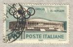 Stamps Italy -  Giochi della XVII Olimpiade  Palazzo dello sport