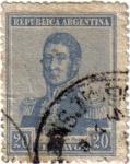 Sellos de America - Argentina -  General José de San Martín.República de Argentina
