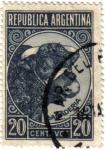 Sellos de America - Argentina -  Ganaderias. República de Argentina