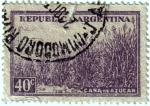 Stamps Argentina -  Caña de azucar. República de Argentina