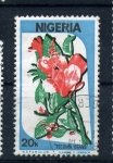 Stamps Africa - Nigeria -  tecoma stans