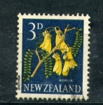 Stamps New Zealand -  Kowha