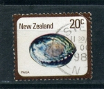 Sellos del Mundo : Oceania : Nueva_Zelanda : paua
