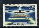 Stamps France -  25º anv. del correo aereo nocturno