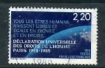 Sellos de Europa - Francia -  declaración univ. de los derechos humanos