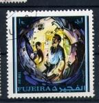 Stamps United Arab Emirates -  dentro de la capsula