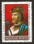 Stamps Hungary -  500 anivº del nacimiento de dozsa gyorgy szuletesenek