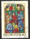Stamps Hungary -  vidriera