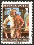 Stamps Hungary -  la colada en la aceria
