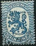 Stamps Finland -  Emisión de Helsinki.León rampante