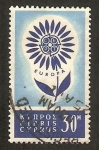 Stamps Asia - Cyprus -  europa cept
