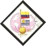 Sellos de Europa - Hungría -  campeonato mundial de futbol, chile 62