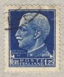 Sellos de Europa - Italia -  Effigie di Vittorio Emanuele III volta a sinistra