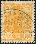 Stamps Europe - Finland -  Escudo.Valor en PEN