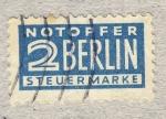 Sellos del Mundo : Europa : Alemania : notoffer Berlin steuermarke