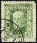 Stamps Czechoslovakia -  Personajes