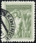 Stamps Czechoslovakia -  Oficios